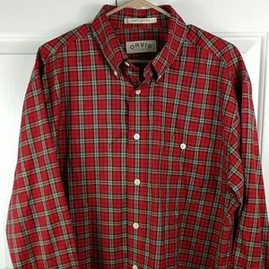 NWOT Orvis long sleeve button down